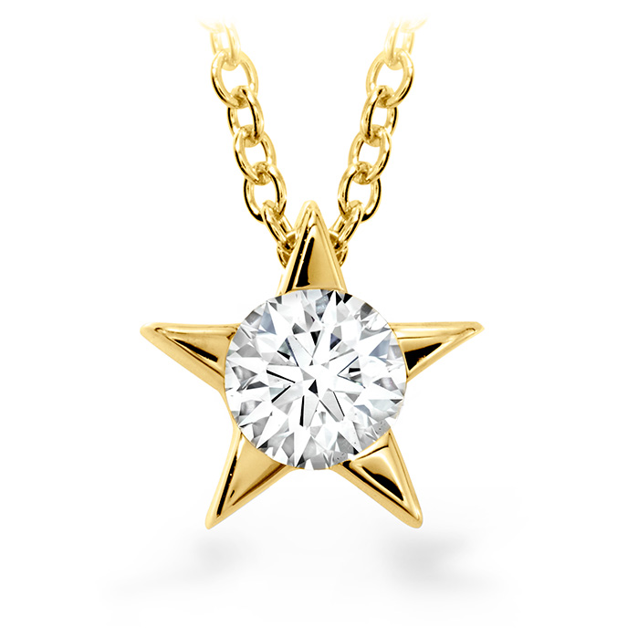 0.15 ctw. Illa Pendant Necklace in 18K Yellow Gold