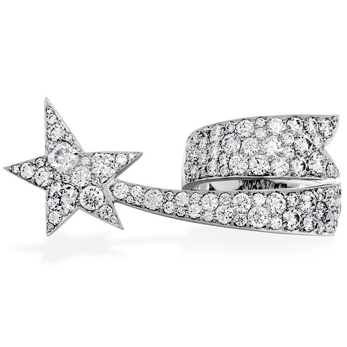 3.6 ctw. Illa Right Hand Ring in 18K White Gold