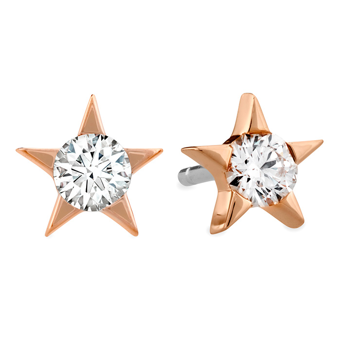 0.33 ctw. Illa Diamond Stud Earrings in 18K Rose Gold