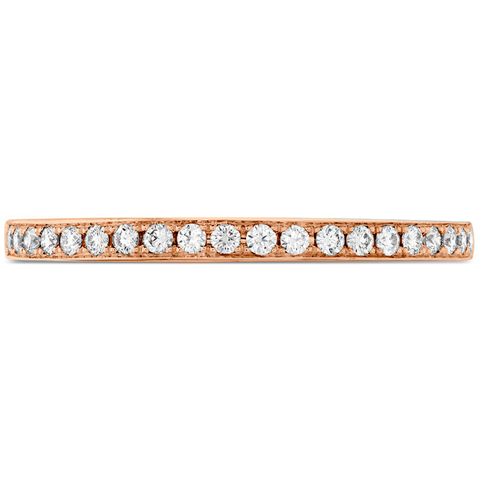 0.15 ctw. Illustrious Diamond Band in 18K Rose Gold