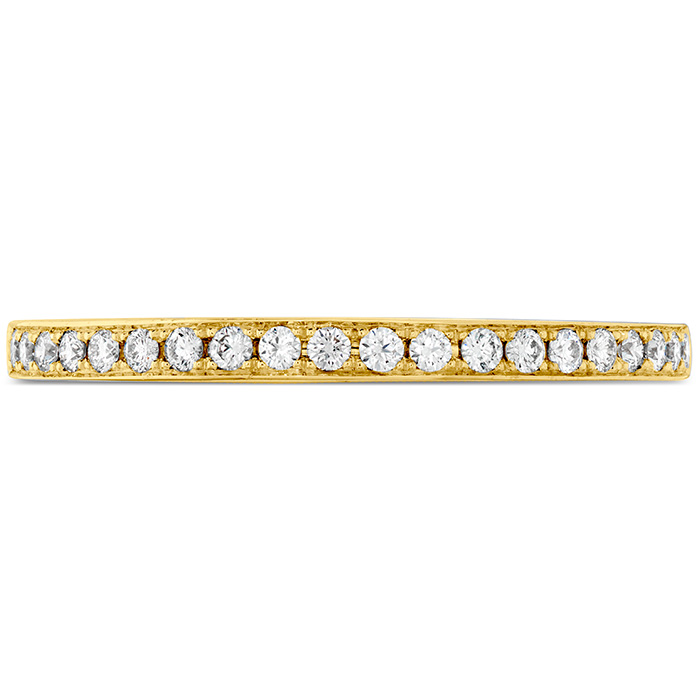 0.15 ctw. Illustrious Diamond Band in 18K Yellow Gold