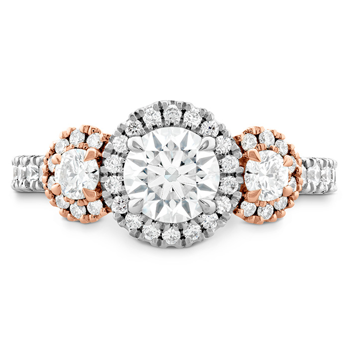 Integrity HOF Three Stone Engagement Ring
