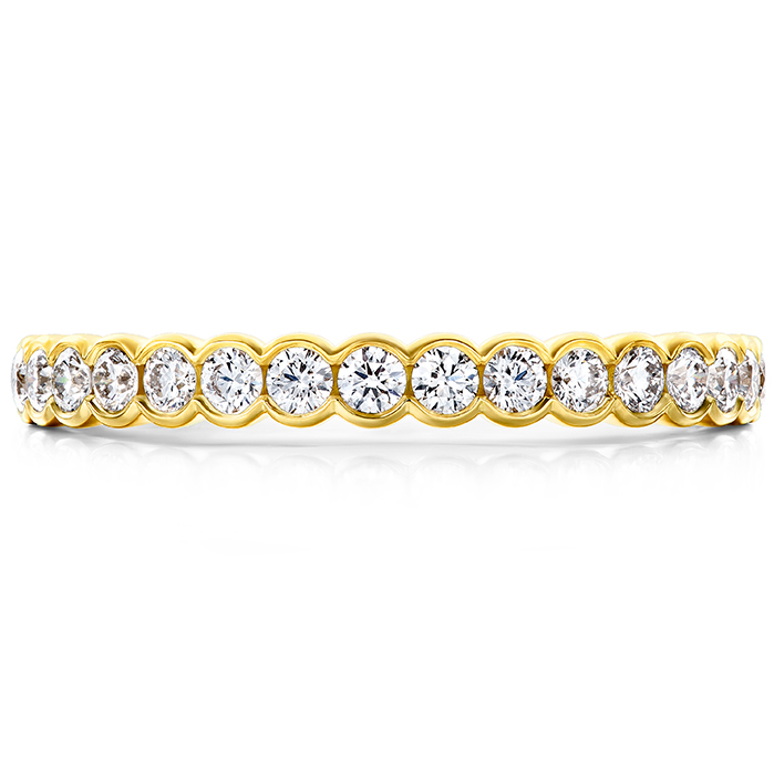 0.41 ctw. Isabelle Bezel Band in 18K Yellow Gold