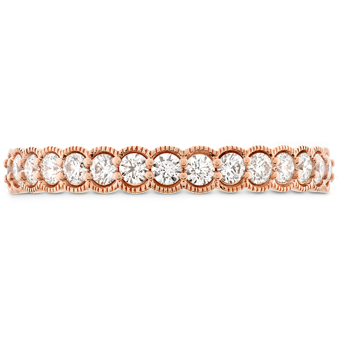 0.42 ctw. Isabelle Milgrain Diamond Band in 18K Rose Gold