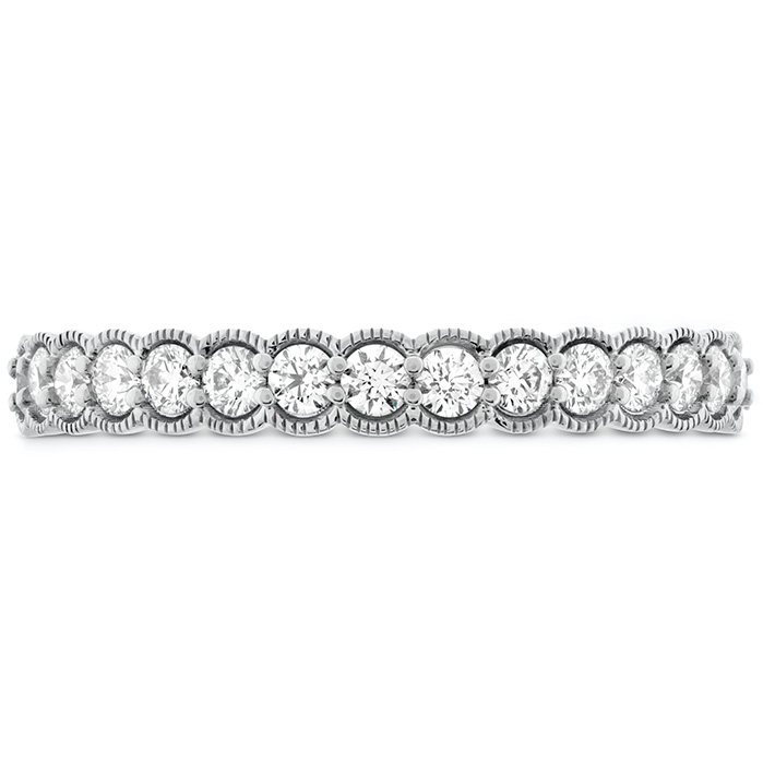 0.42 ctw. Isabelle Milgrain Diamond Band in 18K White Gold