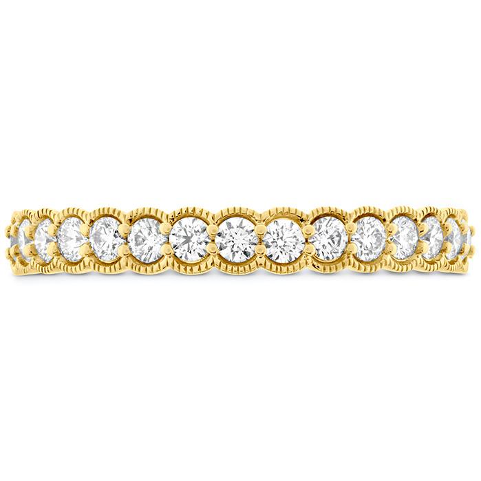 0.42 ctw. Isabelle Milgrain Diamond Band in 18K Yellow Gold