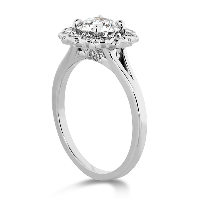 Liliana Halo Engagement Ring