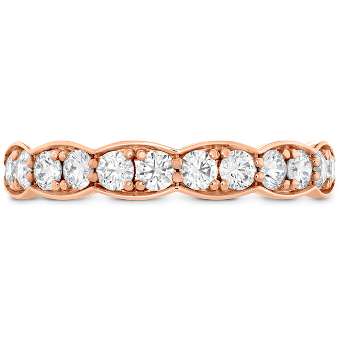 0.7 ctw. Lorelei Floral Diamond Band Large in 18K Rose Gold