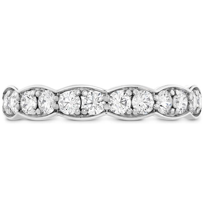 0.7 ctw. Lorelei Floral Diamond Band Large in Platinum