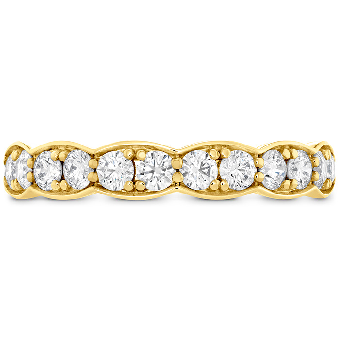 0.7 ctw. Lorelei Floral Diamond Band Large in 18K Yellow Gold