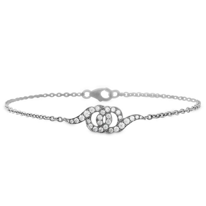 0.3 ctw. Lorelei Diamond Bracelet in 18K White Gold