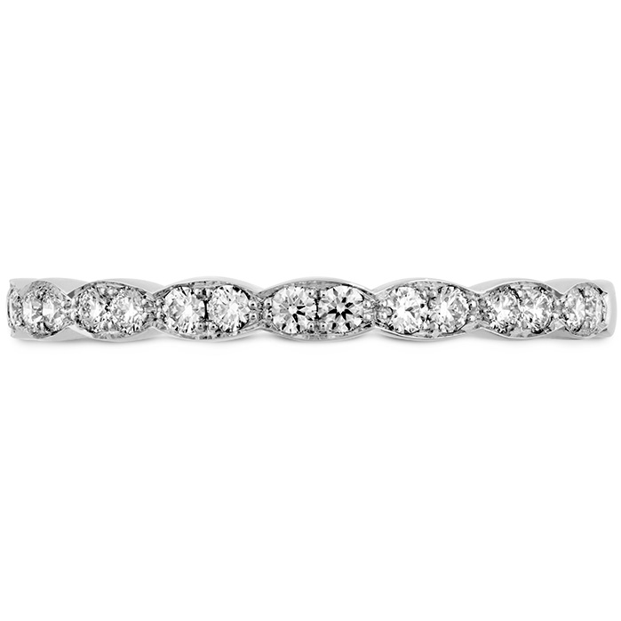 0.2 ctw. Lorelei Floral Diamond Band in 18K Rose Gold
