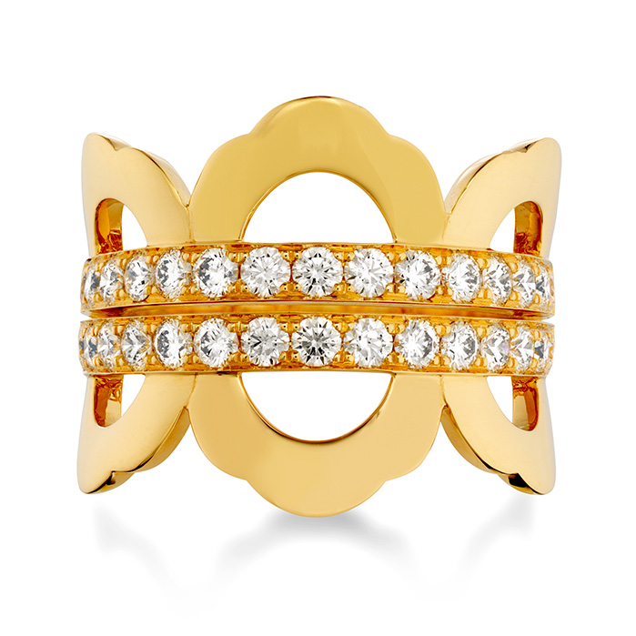 1.05 ctw. Lorelei Right Hand Ring in 18K Yellow Gold