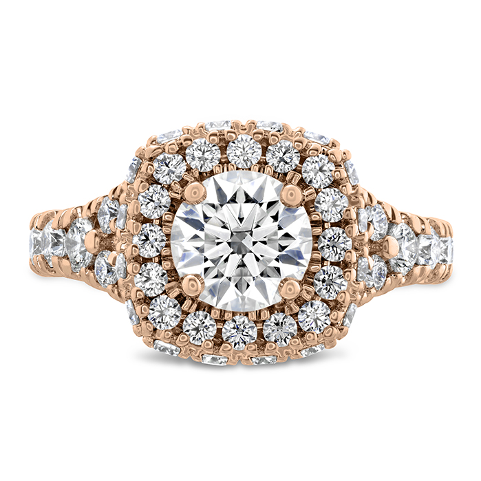 1.51 ctw. Luxe Acclaim Diamond Ring in 18K Rose Gold