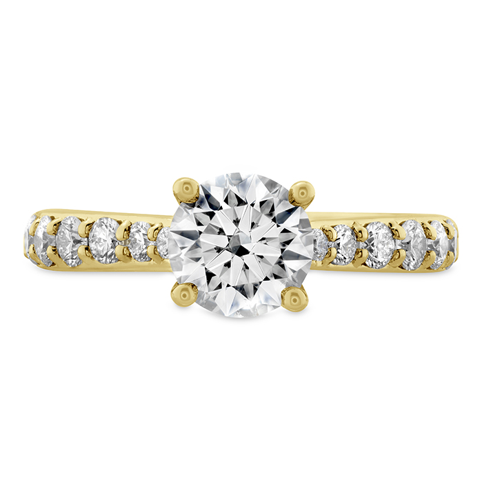 0.66 ctw. Luxe Camilla HOF Diamond Ring in 18K Yellow Gold