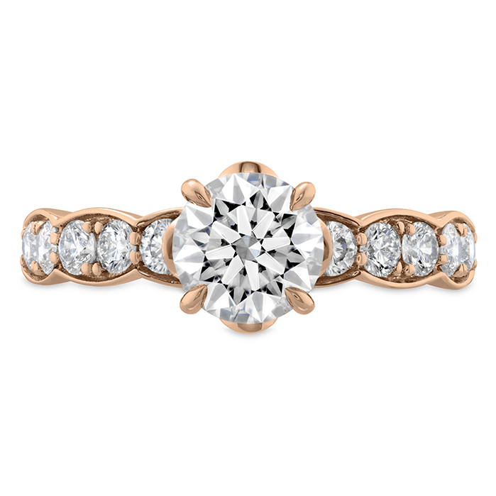 0.59 ctw. Luxe Lorelei Floral Diamond Ring in 18K Rose Gold