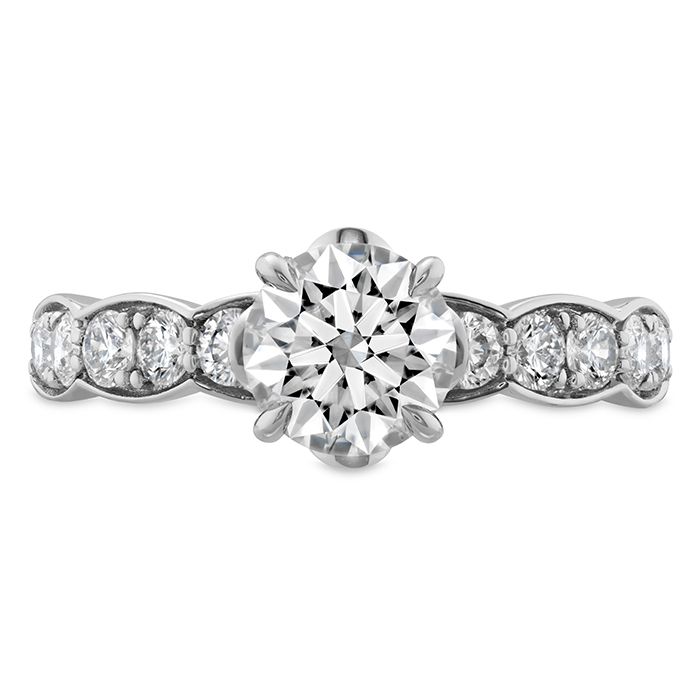 0.59 ctw. Luxe Lorelei Floral Diamond Ring in Platinum
