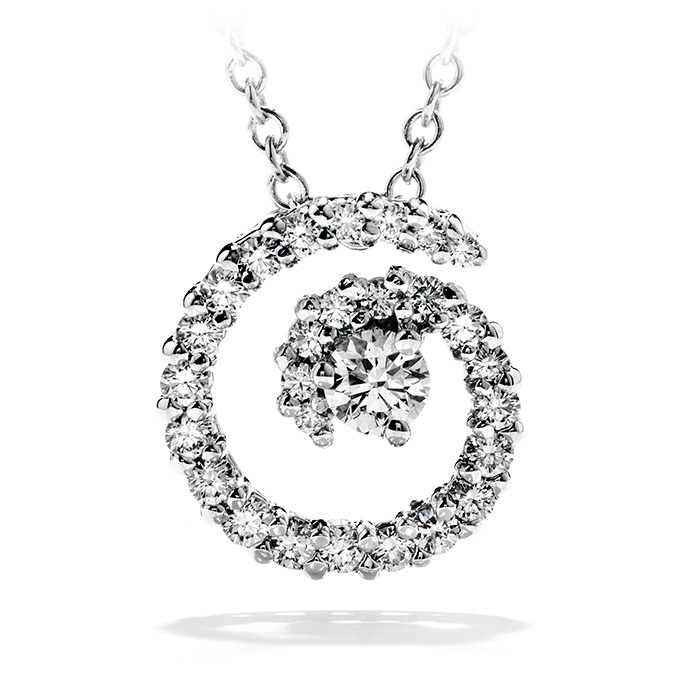 0.35 ctw. Mystical Journey Pendant Necklace in 18K White Gold