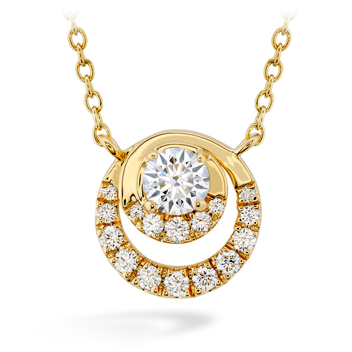 0.38 ctw. Optima Pendant in 18K Rose Gold