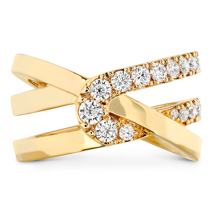0.65 ctw. Optima Wrap Ring in 18K Yellow Gold