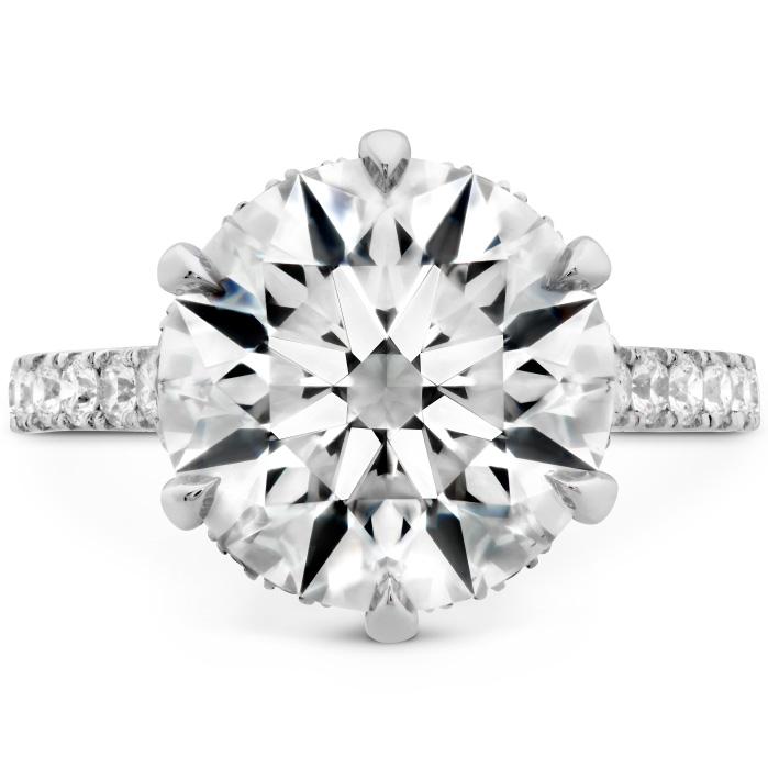 The Primrose Diamond Ring in Platinum