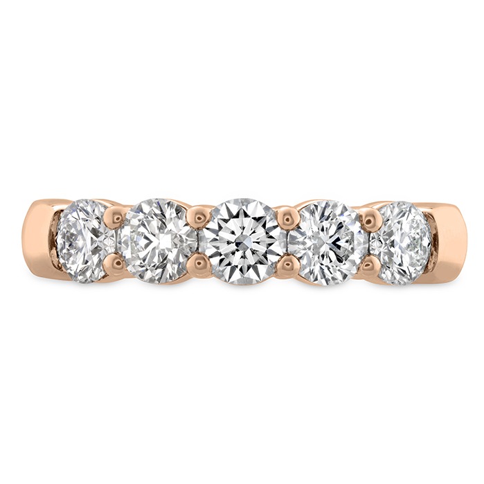 1.25 ctw. Signature 5 Stone Band in 18K Rose Gold