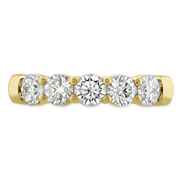 0.25 ctw. Signature 5 Stone Band in 18K Yellow Gold