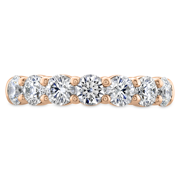 1 ctw. Signature 7 Stone Band in 18K Rose Gold