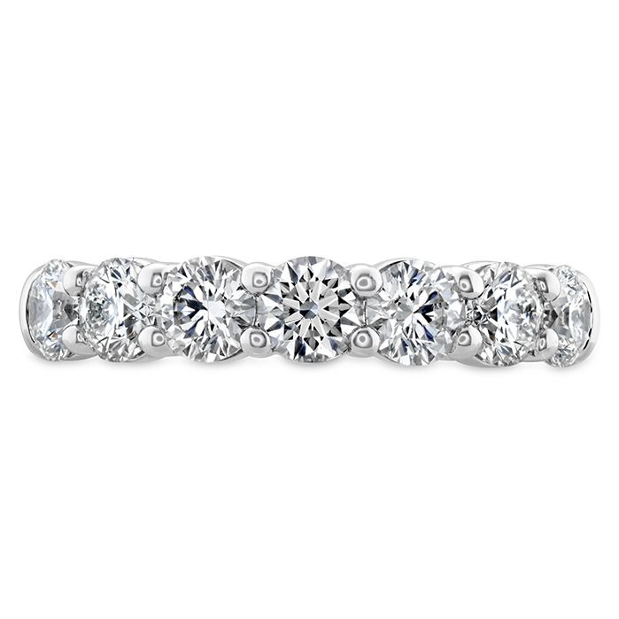 1.25 ctw. Signature 7 Stone Band in 18K White Gold