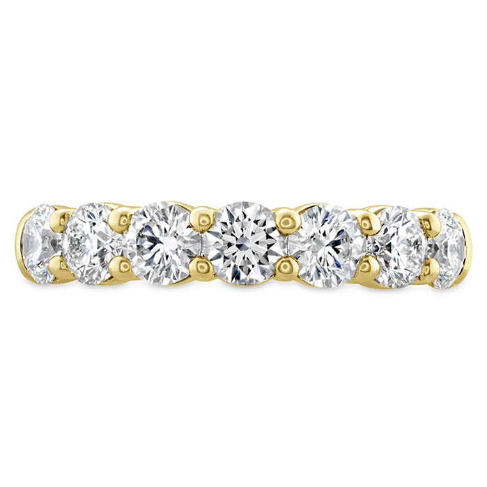1.25 ctw. Signature 7 Stone Band in 18K Yellow Gold