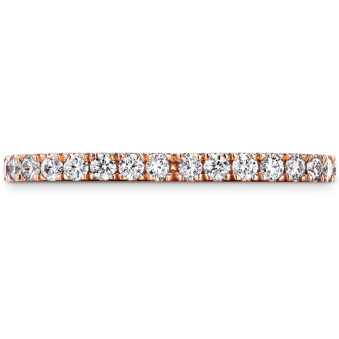 0.65 ctw. Signature Petal Eternity Band in 18K Rose Gold