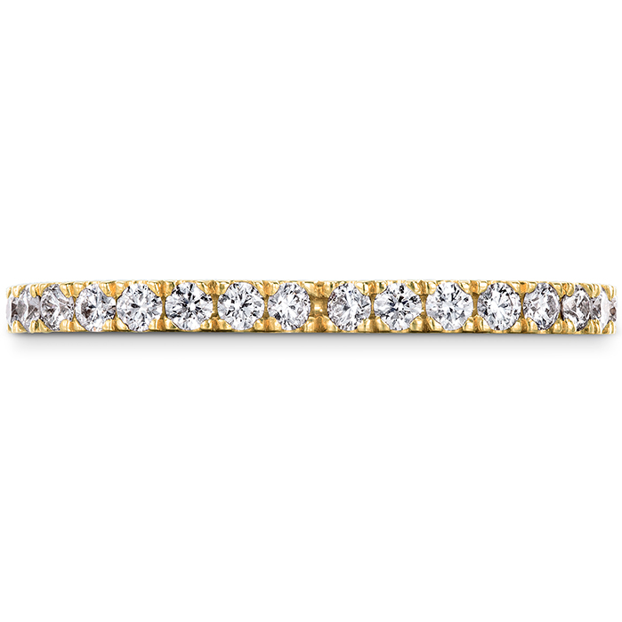 0.72 ctw. Signature Petal Eternity Band in 18K Yellow Gold