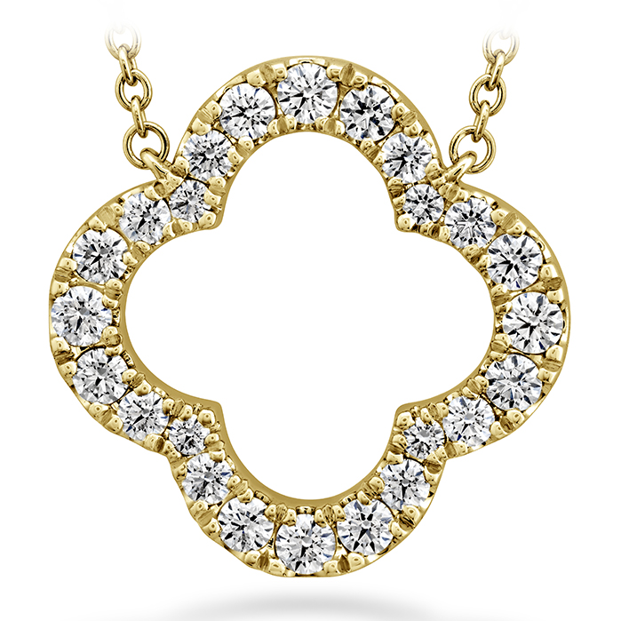 0.51 ctw. Signature Petal Pendant Large in 18K Yellow Gold