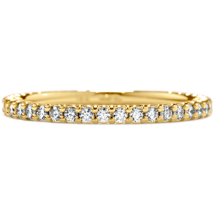 0.3 ctw. Simply Bridal Wedding Band in 18K Yellow Gold