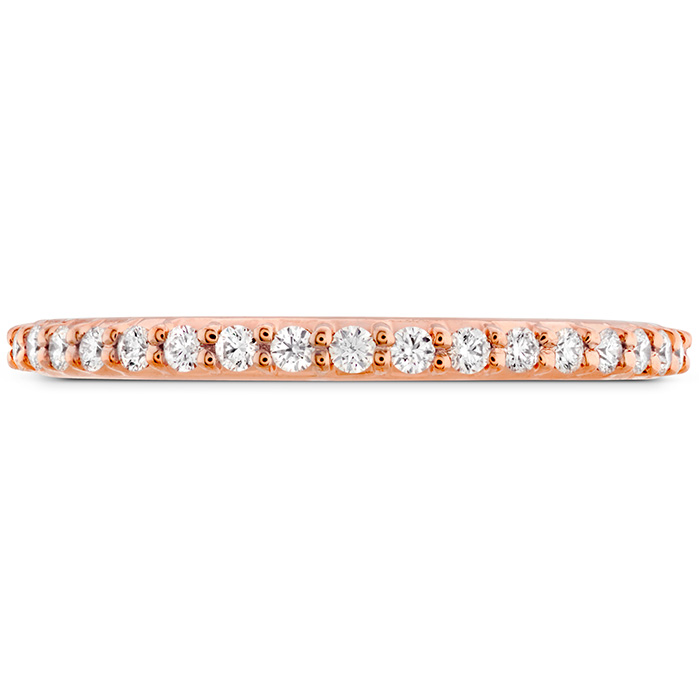 0.18 ctw. Simply Bridal Band to Match Twist DER's in 18K Rose Gold