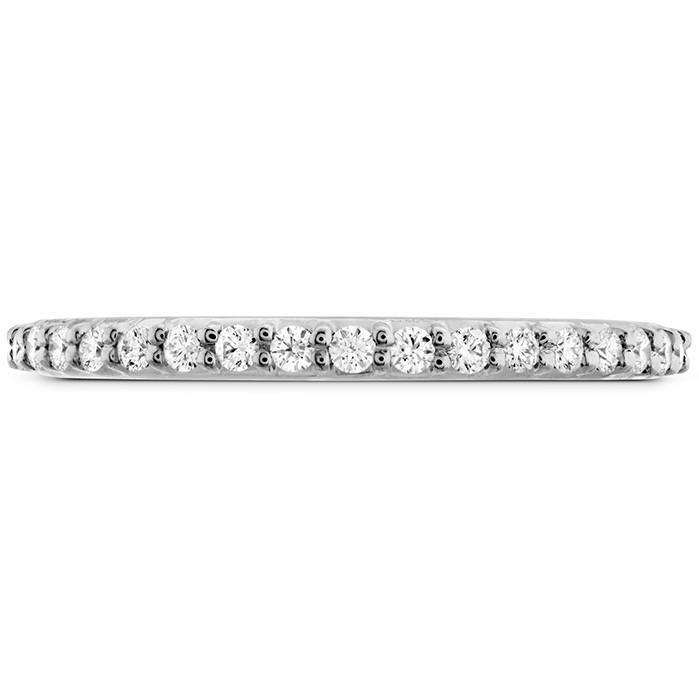 0.18 ctw. Simply Bridal Band to Match Twist DER's in 18K White Gold