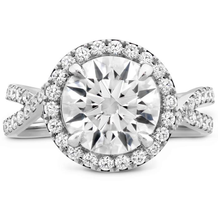 The Stella Diamond Ring in Platinum