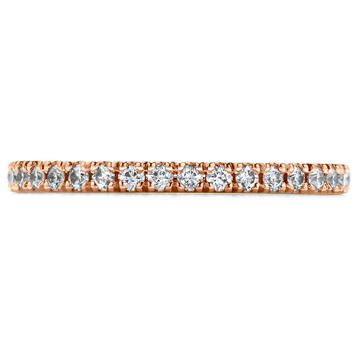 0.25 ctw. Transcend Wedding Band in 18K Rose Gold