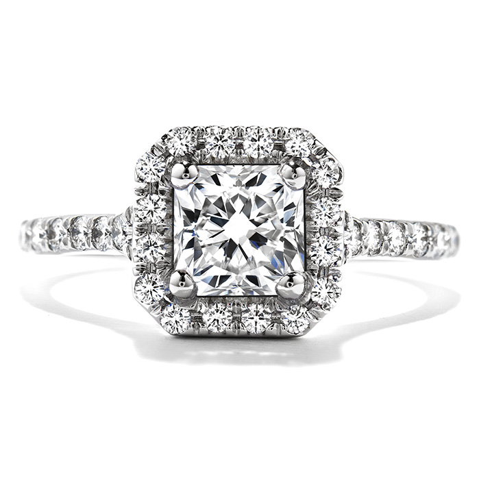 0.4 ctw. Transcend Dream Engagement Ring in 18K White Gold