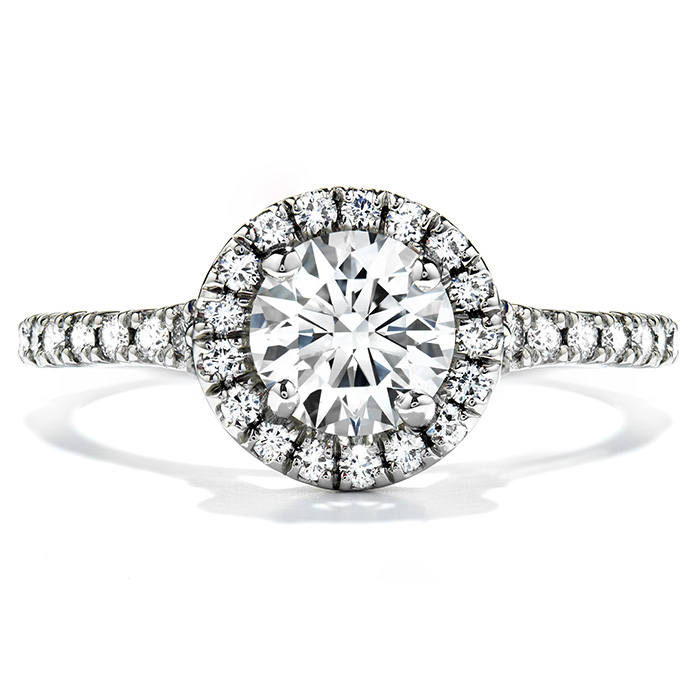 0.4 ctw. Transcend Engagement Ring in 18K White Gold