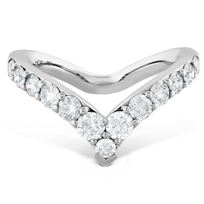 0.78 ctw. Triplicity Single Pointed Ring in 18K White Gold