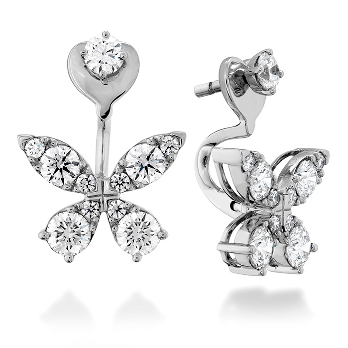 Aerial Diamond Earrings