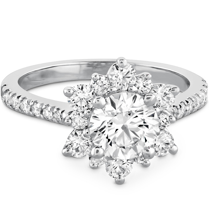 Delight Lady Di - Diamond Band Semi-Mount
