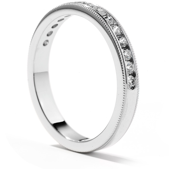 Eterne Milgrain Wedding Band