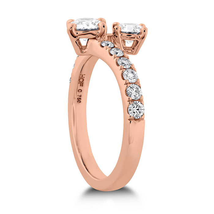 HOF Two Diamond Ring - Diamond Band