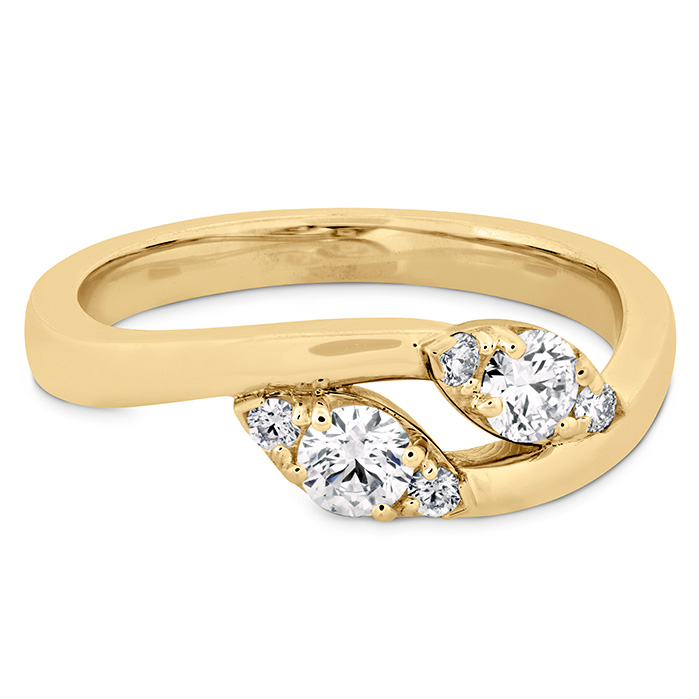 HOF Regal Two Diamond Ring