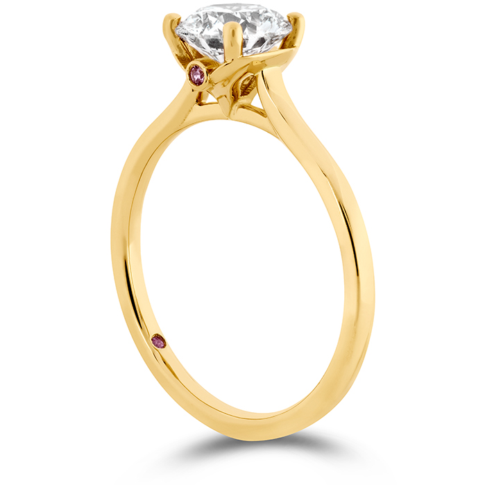 Sloane Silhouette Engagement Ring-Sapphires