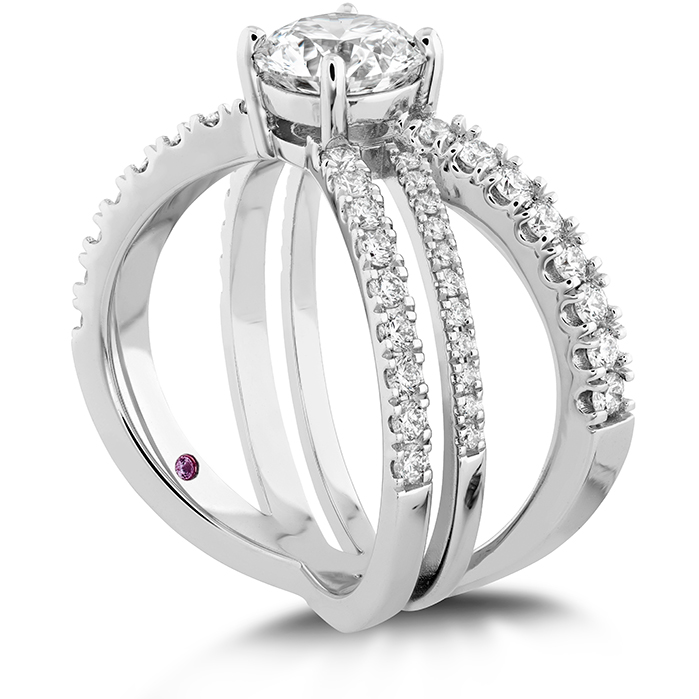 Harley Wrap Engagement Ring
