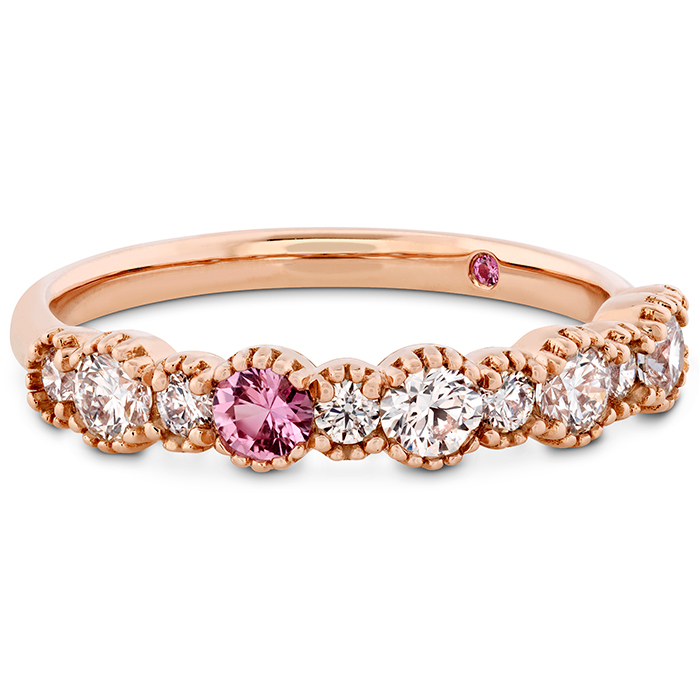 Behati Beaded Band with Sapphires