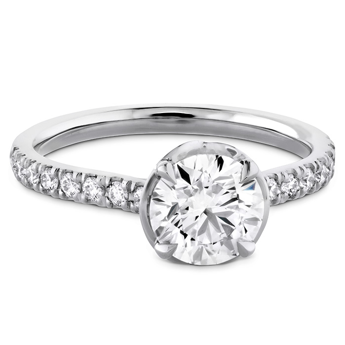 Juliette Diamond Band Semi-Mount